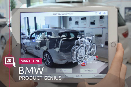 BMW AR PRODUCT GENIUS