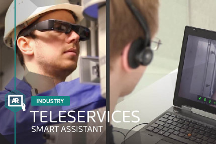 TELESERVICES AUGMENTED REALITY SMART ASSISTANT