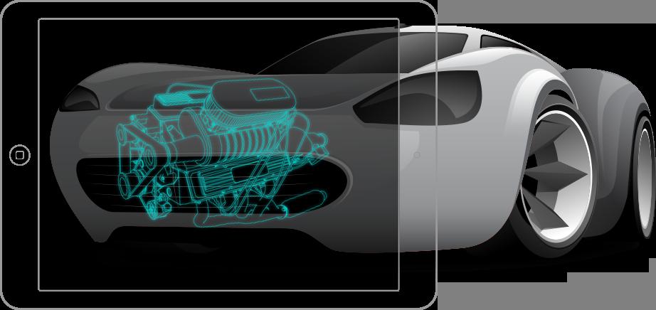 AR Car app