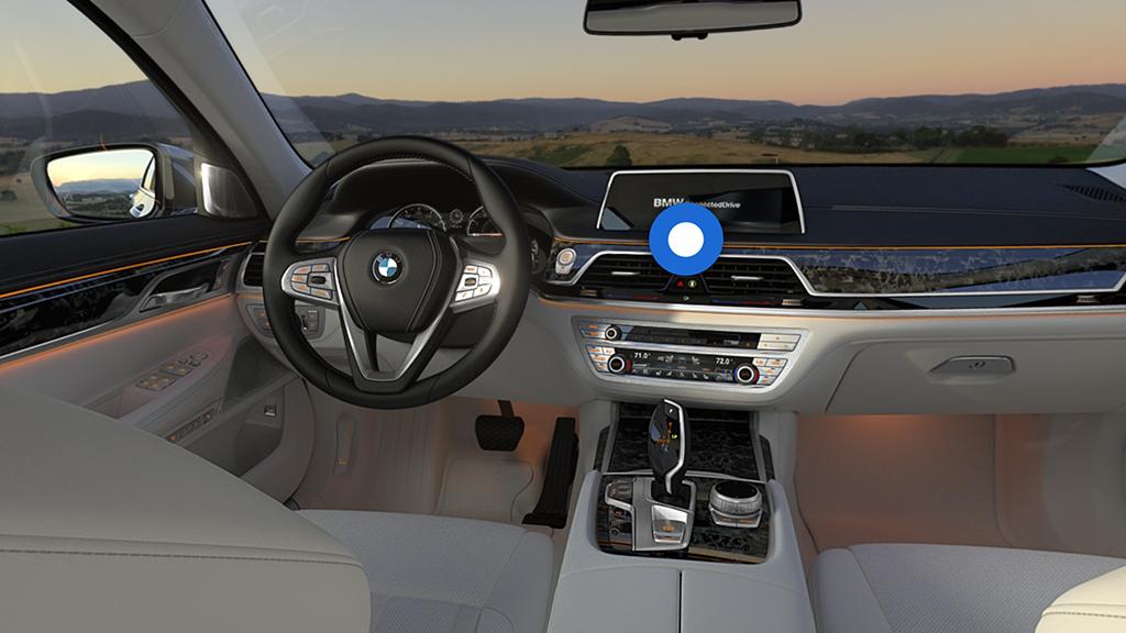 BMW 7 virtual reality marketing