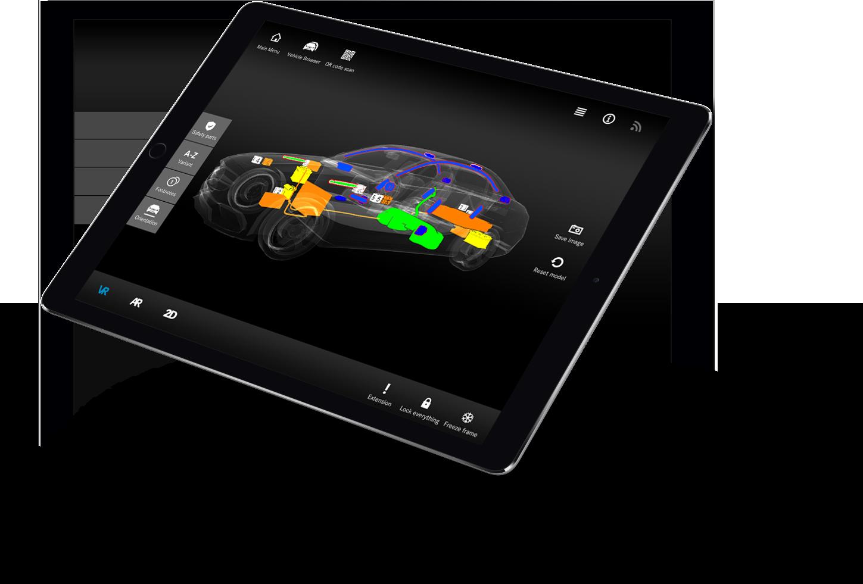daimler ipad 3d model