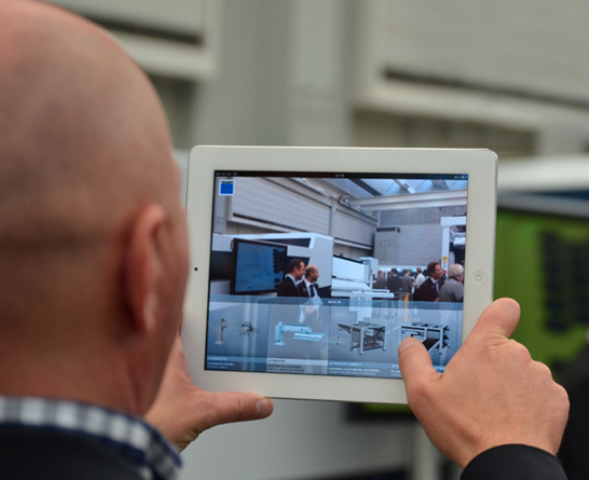 Augmented Reality Anwendung Industrie