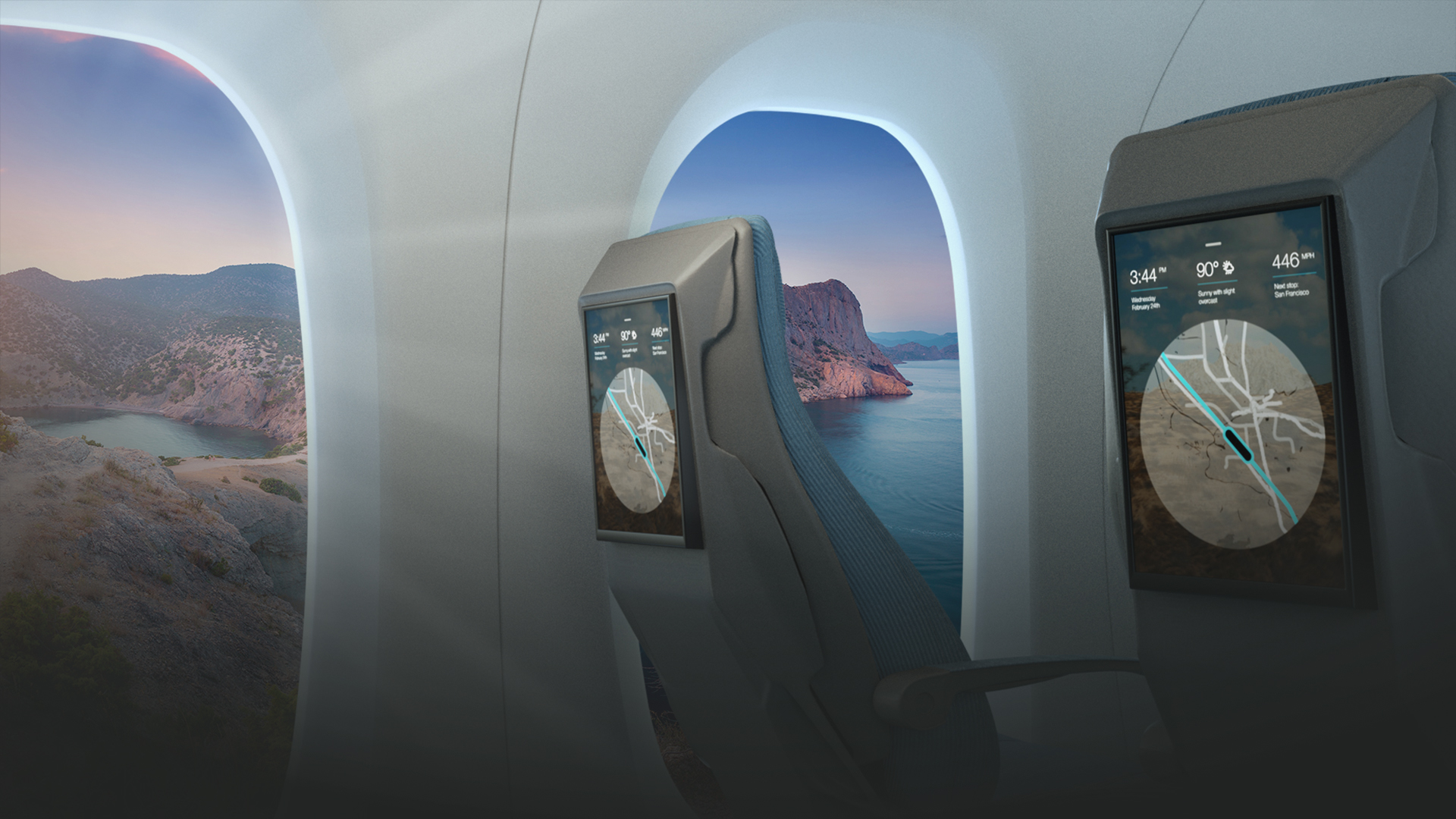 Virtual Reality Windows Hyperloop